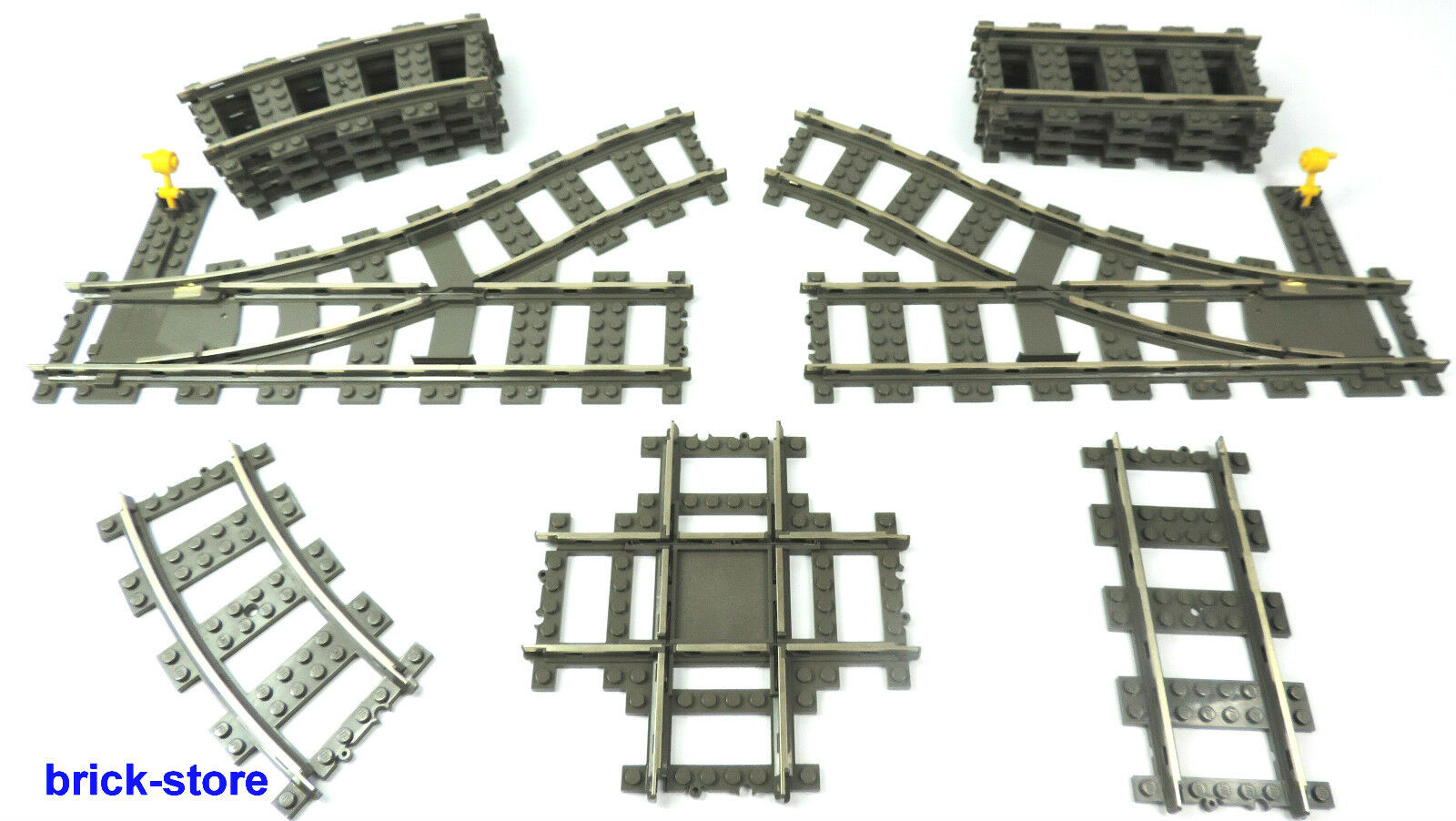 lego eisenbahn auswahl 9v stromschienen weiche kreuz. Black Bedroom Furniture Sets. Home Design Ideas