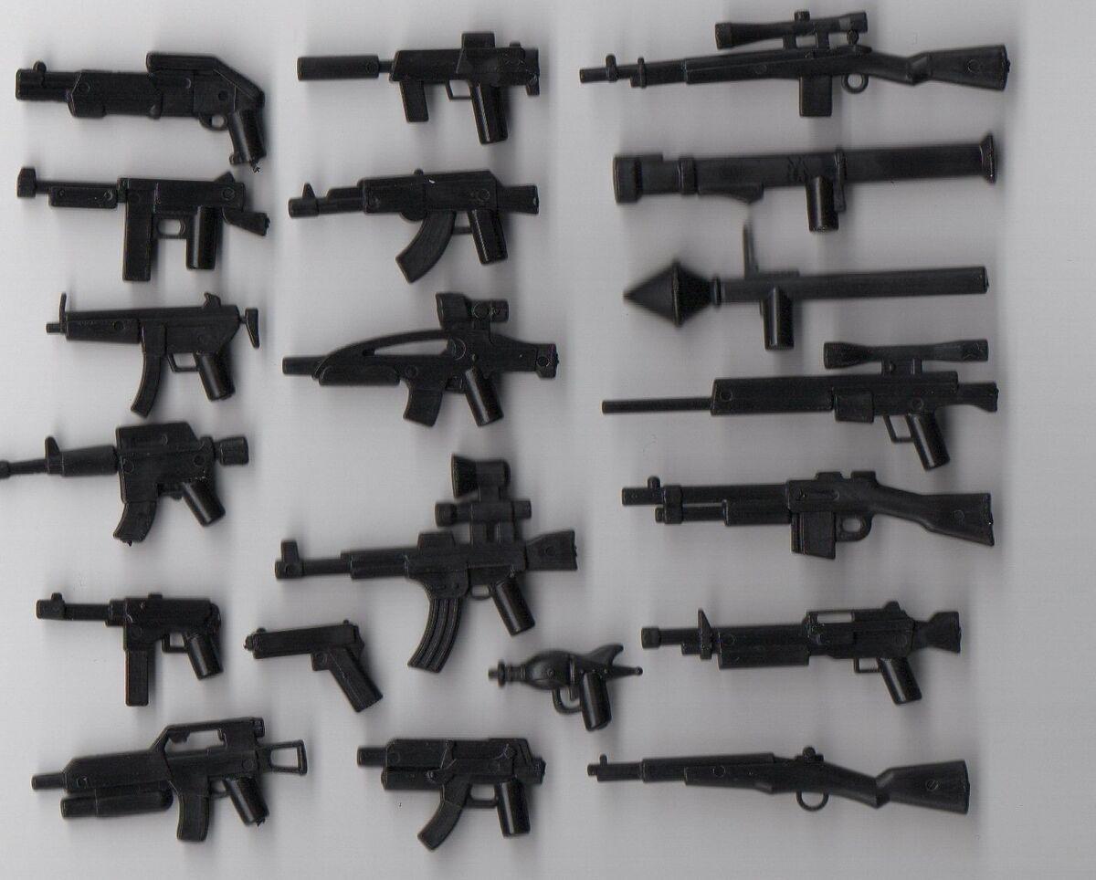 Lego ww2 guns autos weblog