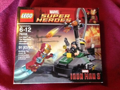 LEGO Iron Man vs The Mandarin Ultimate Showdown set 76008 Unopened Iron Man 3 in Toys & Hobbies, Building Toys, LEGO | eBay