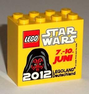 LEGO Legoland Star Wars 2012 Darth Maul collectors promo brick block special NEW - Deutschland - LEGO Legoland Star Wars 2012 Darth Maul collectors promo brick block special NEW - Deutschland