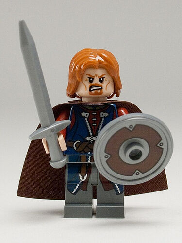 LEGO Lord of the Rings Boromir MINIFIG new from Lego set #9473 in Toys & Hobbies, Building Toys, LEGO | eBay