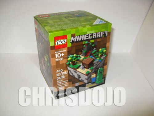 LEGO Minecraft Micro World 21102 Cuusoo - New Sealed - In Hand Ready To Ship in Toys & Hobbies, Building Toys, LEGO | eBay