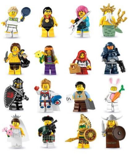 LEGO NEW SERIES 7 8831 MINIFIGURES ALL 16 AVAILABLE YOU PICK KNIGHT AZTEC MORE in Home & Garden, Other | eBay