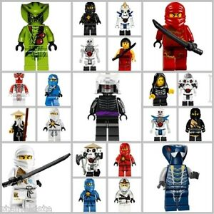 lego ninjago figuren nach wahl kai jay cole zane neu ebay. Black Bedroom Furniture Sets. Home Design Ideas