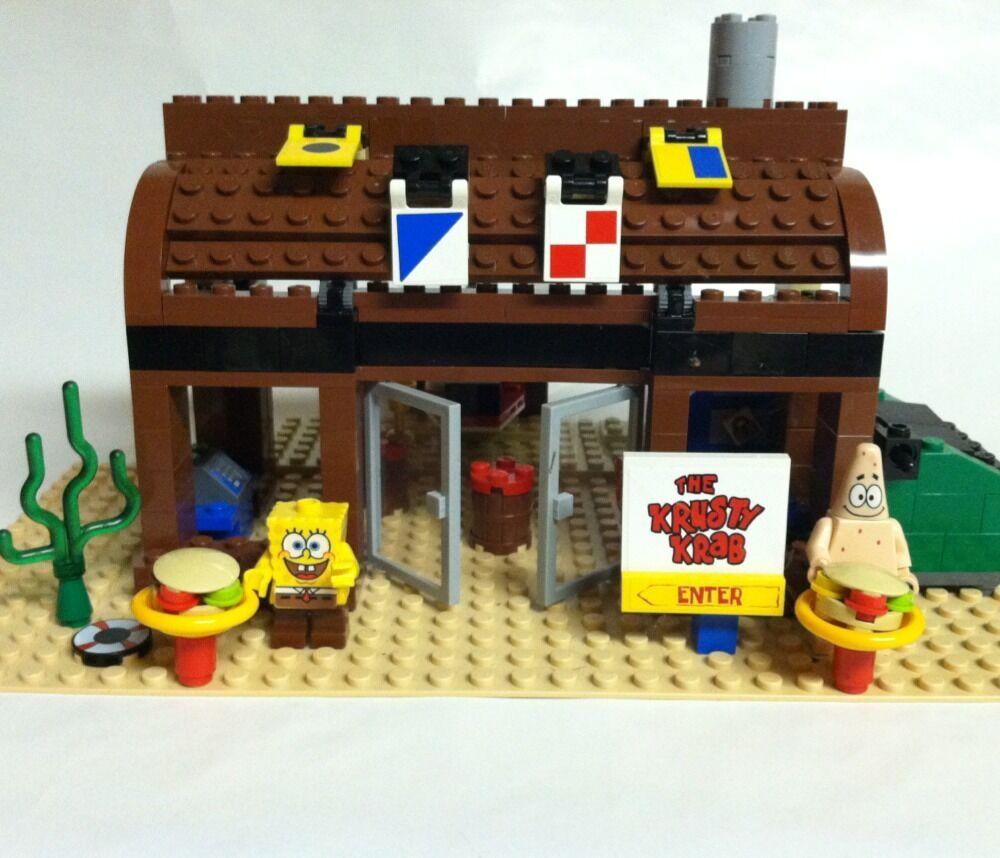 Lego spongebob krusty krab inside - 97.2KB