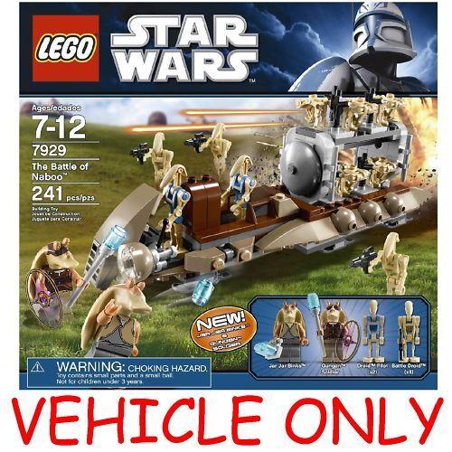 Lego Star Wars 7929 Battle Of Naboo Droid Transport On Popscreen