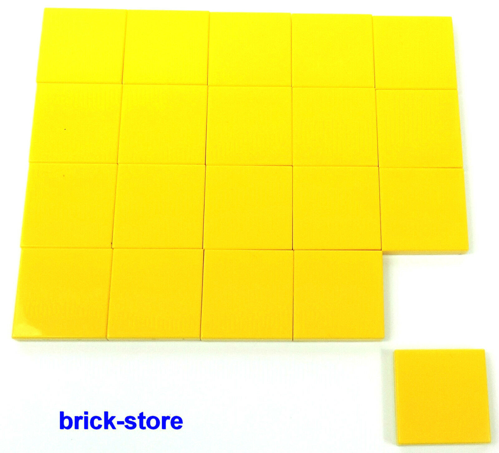 brick lego gelbe 2x2 basic fliesen kacheln. Black Bedroom Furniture Sets. Home Design Ideas