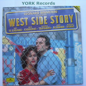 LEONARD-BERNSTEIN-West-Side-Story-Ex-Con-Double-LP-Record-DG-415-253-1