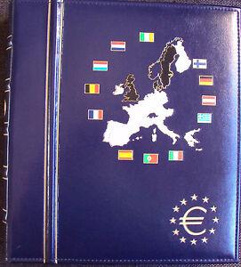 LEUCHTTURM-VISTA-EURO-KURSMUNZEN-ALBUM-Band-l-fuer-12-Euro-Laender