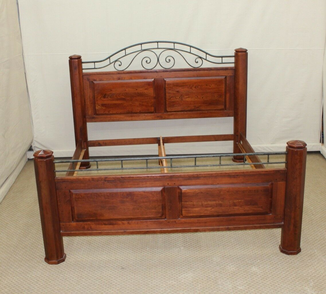 lexington bob timberlake solid cherry king size poster post bed frame