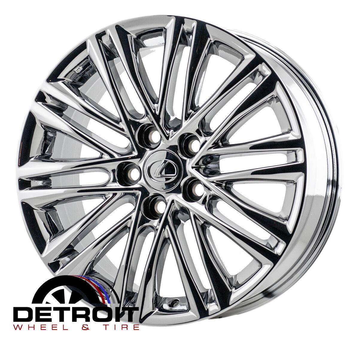 """Lexus ES350 17"""" PVD Chrome Wheels Rims 2013"""