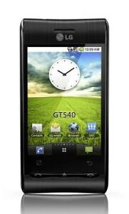 LG Optimus GT540 - Black (O2) Mobile Pho...