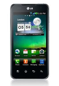 LG Optimus Speed 2X P990 - 8 GB - Schwar...