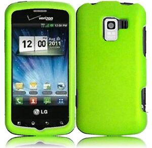 -Optimus-Zip-L75C-Straight-Talk-Faceplate-Phone-Cover-Case-NEON-GREEN