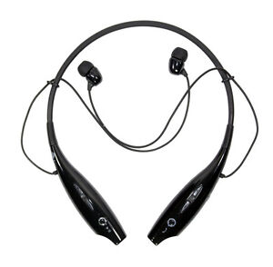 Lg Tone Hbs 730 Bluetooth Wireless Stereo Headset Black New In Retail