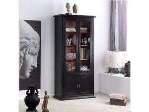 Libreria arte povera colore nero e ciliegio soggiorno - Mobili salotto arte povera ...