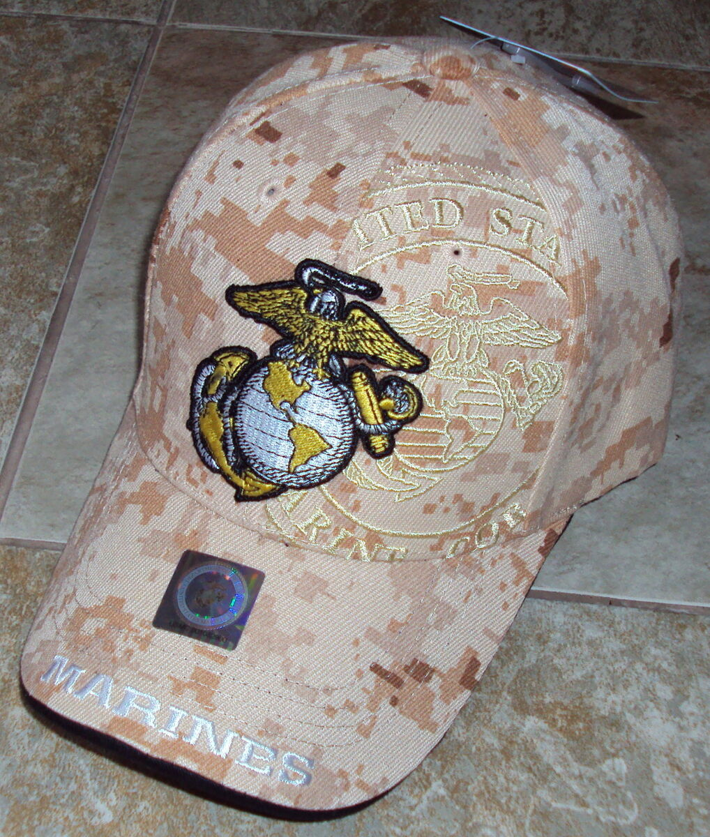 DIGITAL MARPAT DESERT U.S. MARINE MARINES CORPS USMC BASEBALL CAP HAT