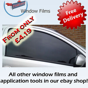 Limo Tint Film http://www.ebay.com/itm/LIMO-BLACK-MEDIUM-LIGHT-TINT-CAR-WINDOW-TINTING-FILM-/250855750305