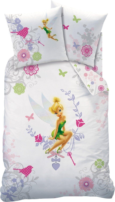 biber kinder bettw sche 135 200 fairies tinkerbell neu ovp 100 baumwolle tink ebay. Black Bedroom Furniture Sets. Home Design Ideas