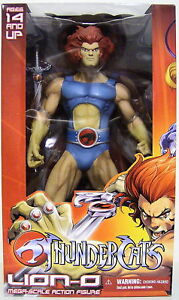 Thundercat Action Figures 2011 on Lion O Thundercats 14  Inch Mega Scale Action Figure Mezco 2011   Ebay