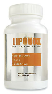 Lipovox Weight Loss Diet Pill Antioxidant Metabolism Boost | eBay