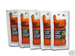 liquid levers single use v belt dressing belt ease ebay