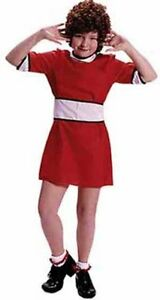 Dress on Little Orphan Annie Child Kids Girls Costume Dress Red Dc1726   Ebay