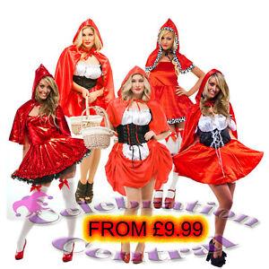Dress on Little Red Riding Hood Fancy Dress Costume   Ebay