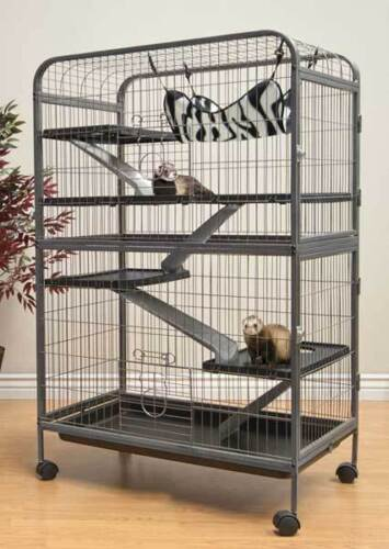 Living room series four level small animal indoor hutch cage ferret chinchilla in pet supplies for Critter ware living room series
