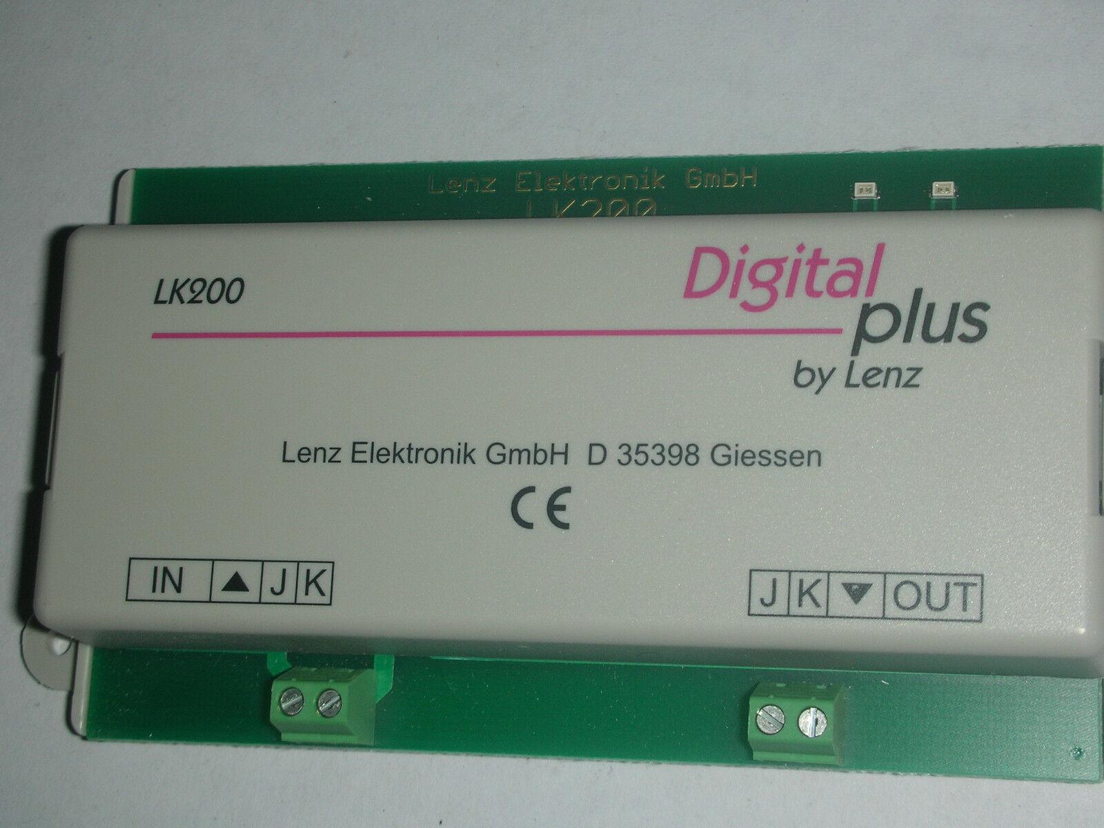 Lk200 Lenz Reverse Loop Module For Auto Revering Of Dcc Polarity Ebay