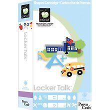 LOCKER TALK Cricut Cartridge Brand New Sealed! in Crafts, Scrapbooking & Paper Crafts, Scrapbooking Tools | eBay