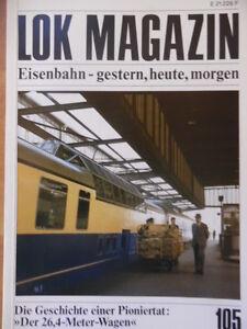 LOK-MAGAZIN-105-Nov-Dez-1980-Dome-Car-Murnau-Oberammergau-2C-L-h3-Lok