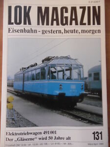 LOK-MAGAZIN-131-Maerz-Apr-1985-Elektrotriebwagen-491-001-Talbot-Sadkmms-691