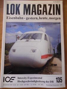LOK-MAGAZIN-135-Nov-Dez-1985-ICE-Limburger-Zigarren-deutsche-Militaereisenbahn