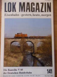 LOK-MAGAZIN-141-Nov-Dez-1986-DB-Baureihe-V80-Schmalspurbahn-Spanien-Crampton