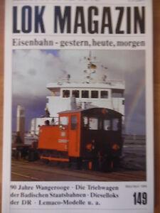 LOK-MAGAZIN-149-Maerz-Apr-1988-Wangerooge-DR-Dieselloks-Triebwagen-Lemaco-8K