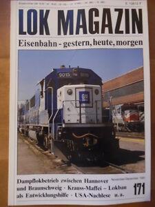 LOK-MAGAZIN-171-Nov-Dez-1991-B39-Krauss-Maffei-CSD-Beiwagen-VB-141-Balkanzug