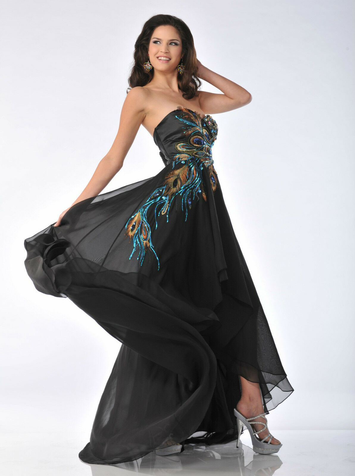Black Tie Long Dress