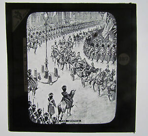 LORD-ROBERTS-Boer-War-Antique-Magic-Lantern-Military-Glass-Slide