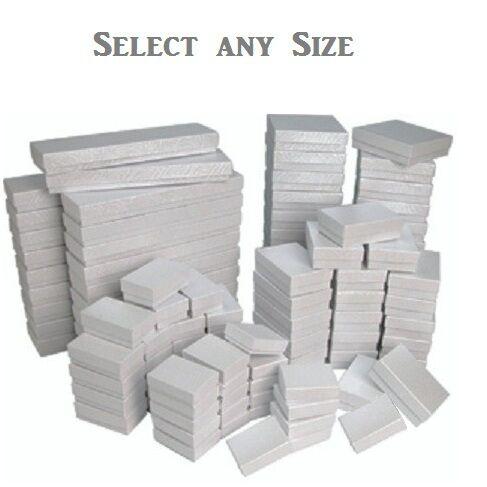 Lot Of 20 50 100 Black Boxes Black Cotton Filled Gift Box Wholesale
