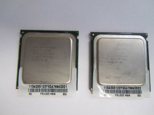 LOT OF (2)INTEL XEON QUAD CORE PROCESSOR X5365 3.0GHZ 8MB L2 CACHE 1333MHZ SLAED in Computers/Tablets & Networking, Computer Components & Parts, CPUs, Processors | eBay
