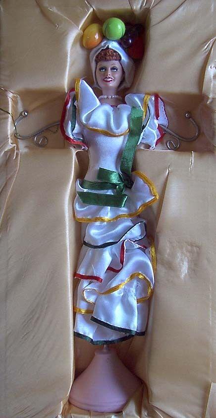 LOVE LUCY Lucille Ball Carmen Miranda Doll Jewelry
