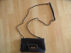LOVE-MOSCHINO-kleine-Handtasche-dunkelblau-NEU
