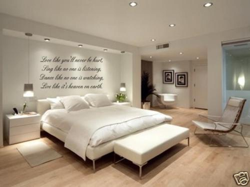 LOVE SING DANCE LIVE Wall Decal Sticker Bedroom Home