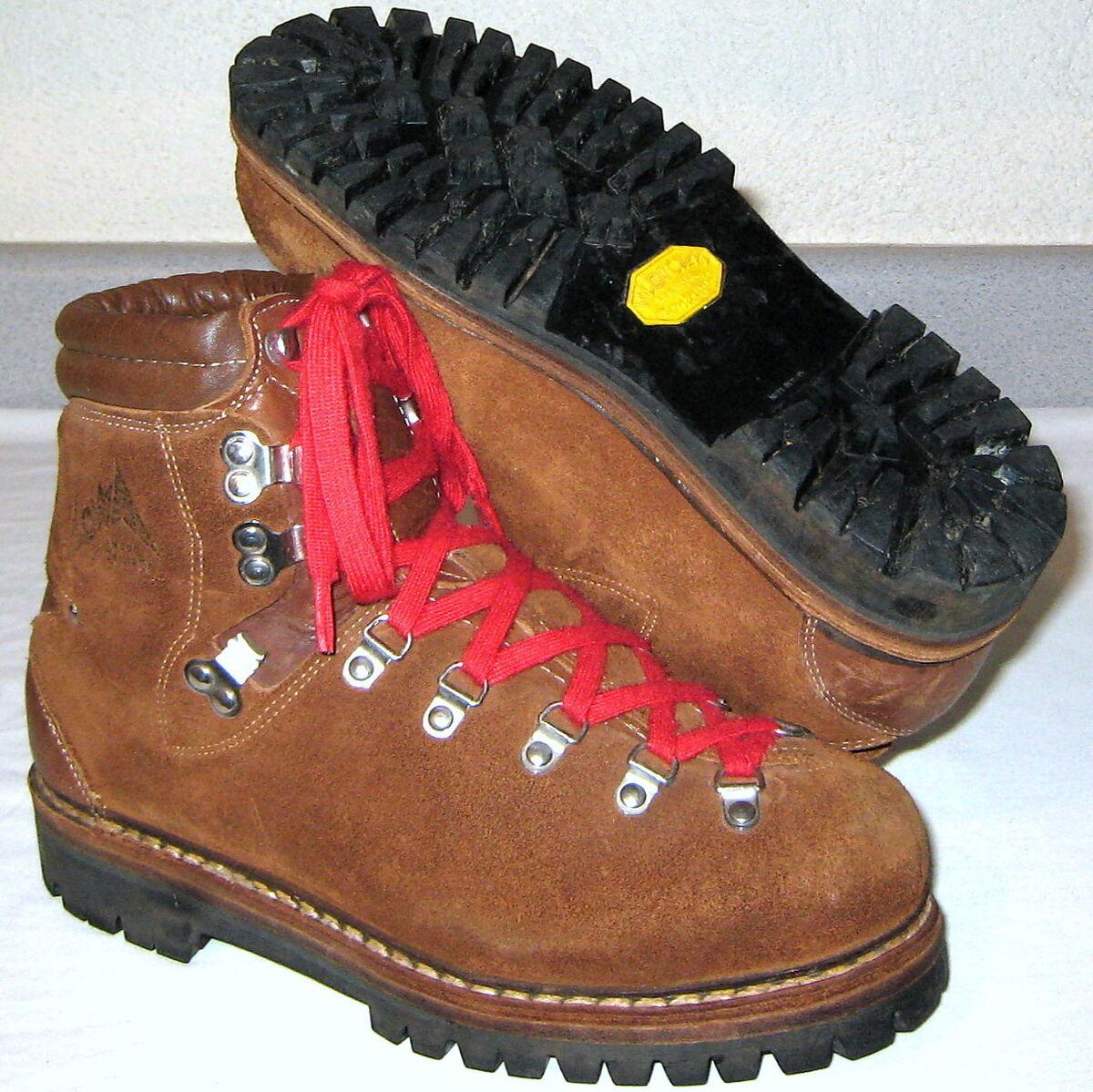 lowa vintage leather hiking boots mens sz 6 5
