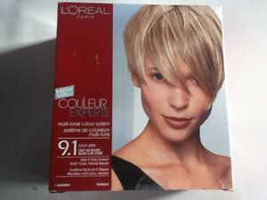 l 039 oreal couleur experte iced latte light ash blonde blond clair cendre 9 1 ebay. Black Bedroom Furniture Sets. Home Design Ideas