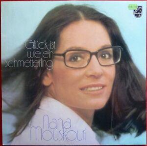 LP-NANA-MOUSKOURI-Glueck-ist-wie-ein-Schmetterling-1977-Top-Zustand