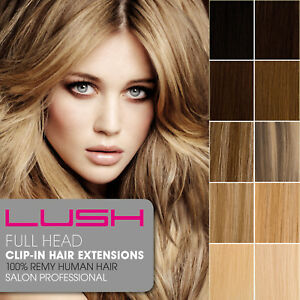 Lush Remy Human Hair Extensions 6