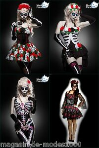 la catrina kost m fasching karneval day of the dead. Black Bedroom Furniture Sets. Home Design Ideas