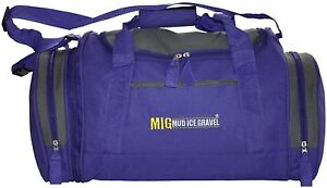 Ladies-Purple-Holdall-Gym-Sports-Bag-Travel-Sports-School-Work-etc-MIG-07M